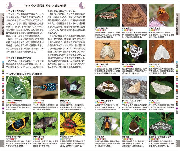 増補改訂版 日本のチョウ   株式会社誠文堂新光社